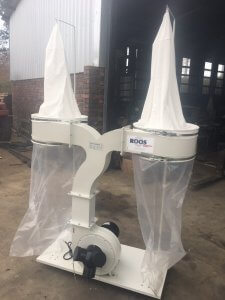 Dust Extraction Unit, ROOSMAC, FM300S-5, 2-bag, 3.7 kW Image