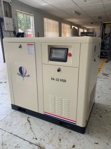 FA-22VSD Screw Compressor 22KW VSD Image