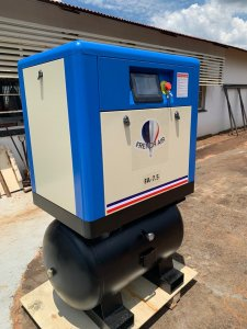 FA-7.5D Screw Compressor & Air Receiver 7.5KW, 38CFM, 2 in 1 Image