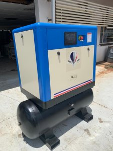 FA-11D Screw Compressor and Air Receiver 11KW Image