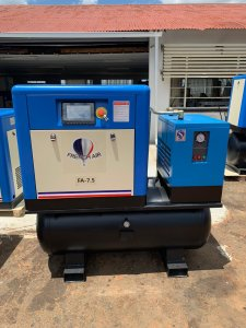 FA-7.5Q 3 in 1 Screw Compressor, Air Receiver and Air Dryer 7.5KW Image